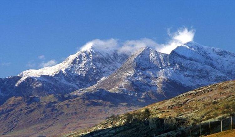 Mount Snowdon Range North Wales